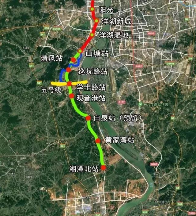 长株潭城际轨道交通西环线将在2020···